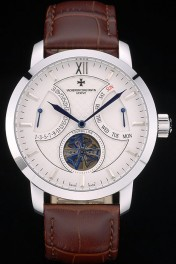 Vacheron Constantin Luxury Leather Replica Relojes 80228