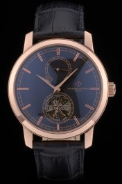 Vacheron Constantin Luxury Leather Replica Relojes 80167