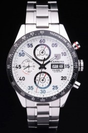 Carrera White Replica Relojes 3760