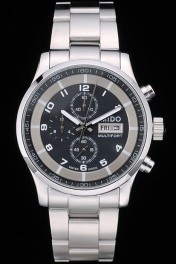 Mido Multifort Stainless Steel Bezel Black Dial 80281