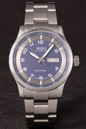 Mido Multifort Stainless Steel Strap Grey-Silver Dial 80295